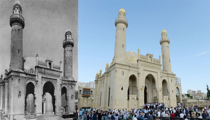 Мечеть Тезепир и Набат ханым Ашурбекова