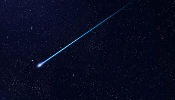 Meteoritin düşmə anı