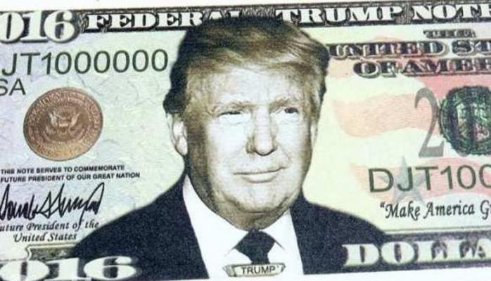 Tramp bunu gözləmirdi: dünya dolları türk lirəsinə dəyişdirir