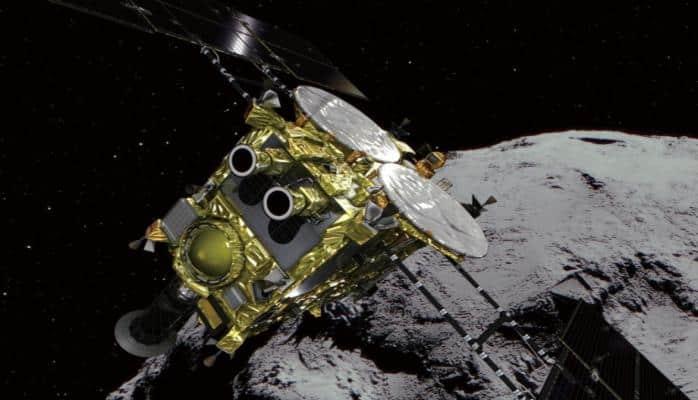 """""""Hayabusa-2"""" kosmik zondu asteroidin səthinəenmə əməliyyatını təxirə salıb"""