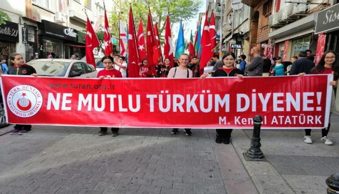 Azərbaycanlı şagirdlər Türk Dünyası Çocuk Şölənində iştirak edir