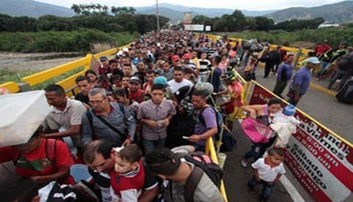 Venesueladan gələn qaçqın axınına görə Ekvadorda fövqəladə vəziyyət tətbiq edilib