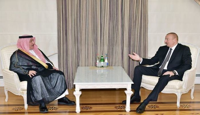 Президент встретился с Фейсалом бин Муаммаром