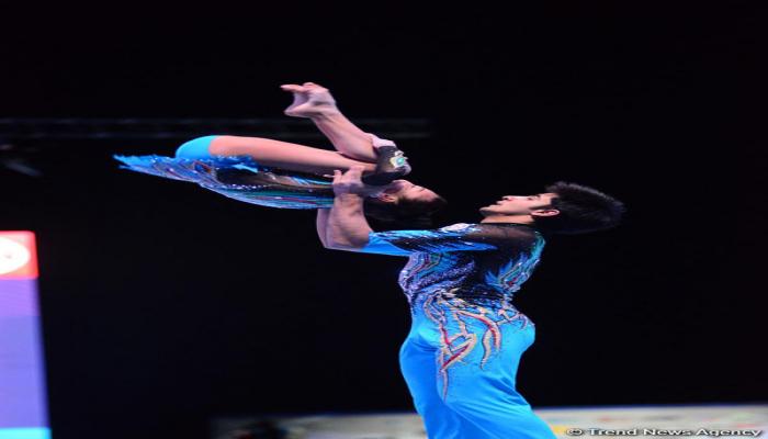 Akrobatlarımız beynəlxalq turnirdə 3 medal qazandı