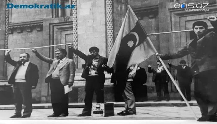 Cümhuriyyət bayrağımız 72 il sonra yenidən Gəncədə necə qaldırıldı? - EKSKLÜZİV