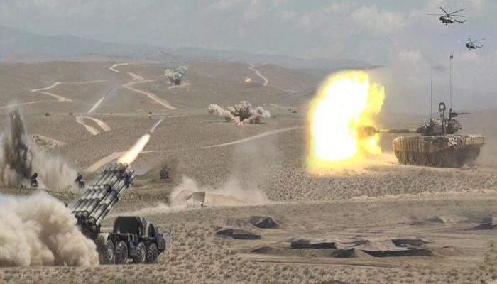 В войсках Нахчыванского гарнизона начались командно-штабные учения