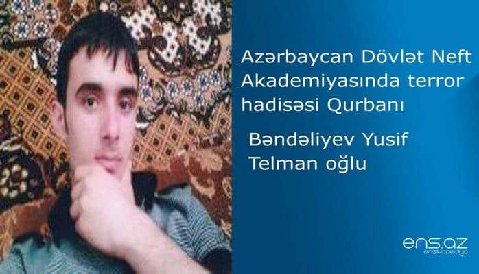 Azərbaycan Dövlət Neft Akademiyasında terror hadisəsi qurbanı - Yusif Bəndəliyev Telman oğlu