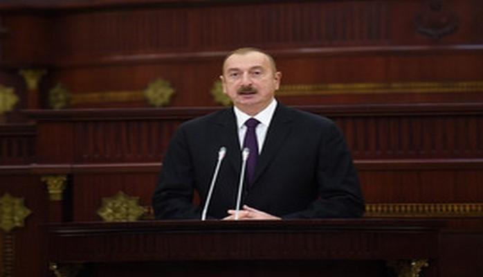 """Prezident İlham Əliyev: """"Bugünkü inkişafımızda Azərbaycan parlamentinin də payı var"""""""