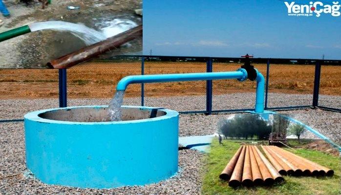 """Yeyinti, susuzluq, """"söyüntü"""" - Ağdamda su təchizatındakı problem və səbəbləri"""
