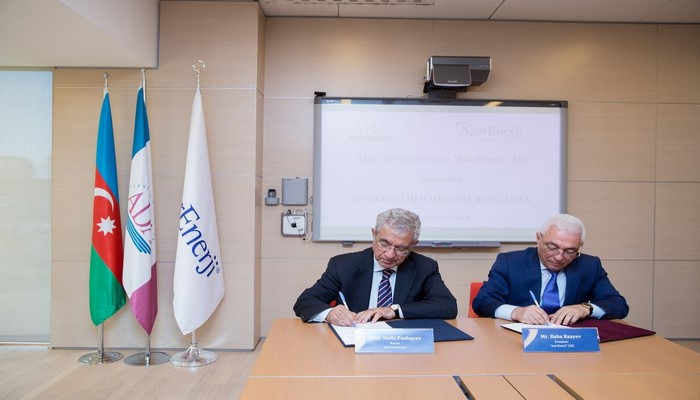 Университет АДА и ОАО «Азерэнержи» будут вместе развивать сферу электрической инженерии