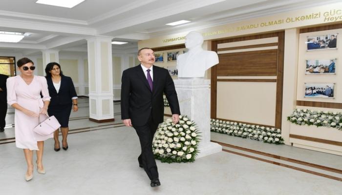 """Prezident: """"Təhsilin səviyyəsinin qaldırılması gündəlikdə duran vacib məsələlərdəndir"""""""