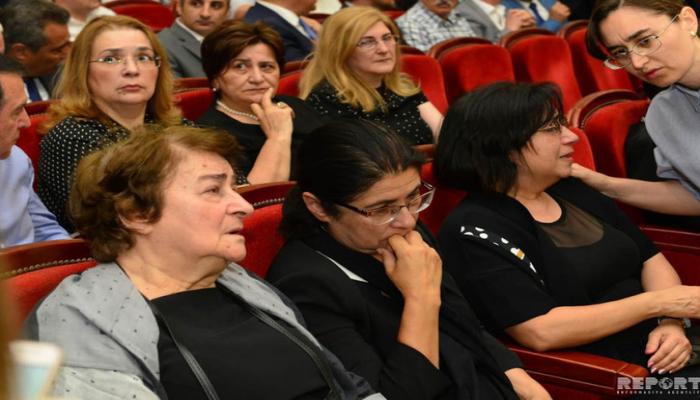 Şirməmməd Hüseynovun qızı: 'Atam BDU-nu özünün birinci evi hesab edirdi'
