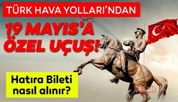 THY tarihi yolculuk 19 Mayıs hatıra bileti nasıl ve nereden alınır? Türk Hava Yolları 19 Mayıs Hatıra Bileti ALMA EKRANI BURADA!