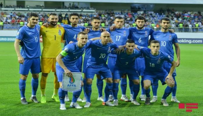Сборная Азербайджана стала одной из 7 команд-неудачниц Евро-2020