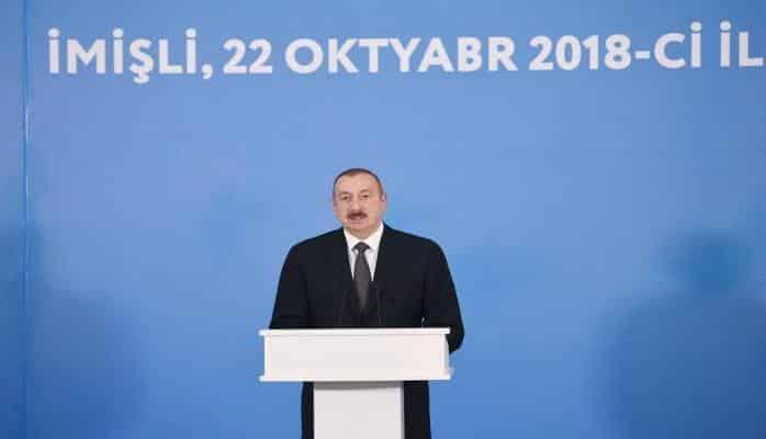 Президент Ильхам Алиев: Открытие нового канала-притока реки Араз придаст еще больший импульс развитию сельского хозяйства