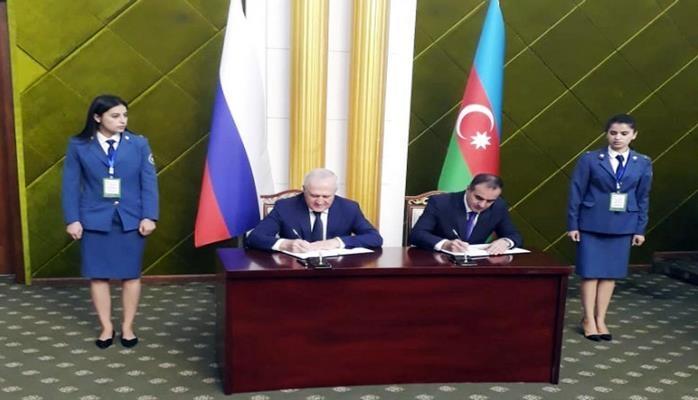 Между таможенными органами Азербайджана и России подписан документ о технических условиях обмена информацией