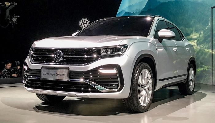 """Volkswagen привёз в Шанхай """"убийцу"""" BMW X4"""