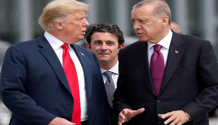 Эрдоган раскрыл детали телефонных переговоров с американским лидером
