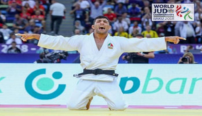 Золотой призер Бакинского чемпионата мира по дзюдо: Я - азербайджанец