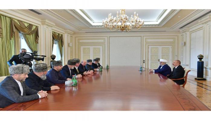 Президент Ильхам Алиев: Вопросы взаимодействия на Кавказе, вопросы сотрудничества и межрелигиозного диалога важны и для России, и для Азербайджана