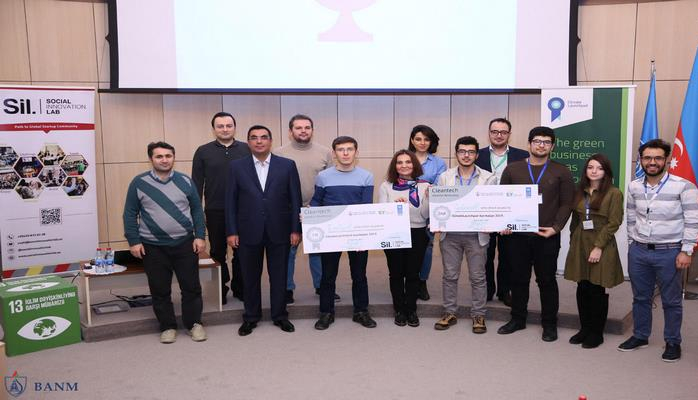 """В Бакинской Высшей школе нефти прошел """"Cleantech Ideation Bootcamp"""""""