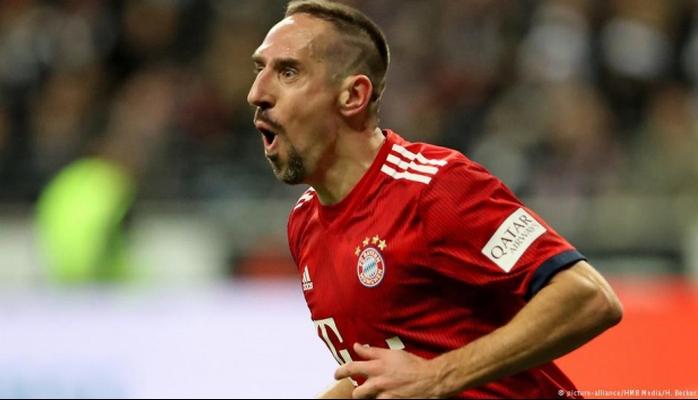 Ribery'ye kulübü Bayern Münih'ten para cezası