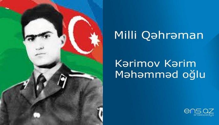 Kərim Kərimov Məhəmməd oğlu