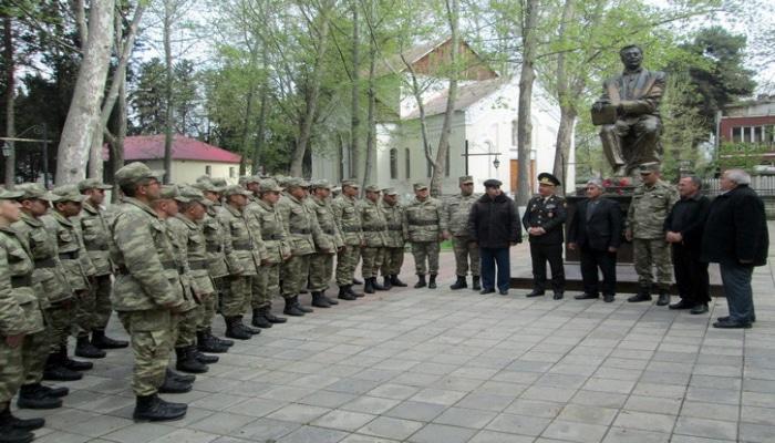 Azərbaycan Ordusunda İsmayıl Şıxlının 100 illik yubileyi qeyd olunub