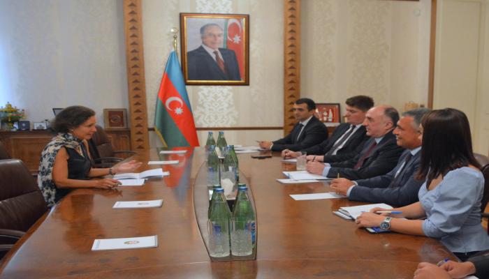 Посол Франции завершила дипломатическую миссию в Азербайджане