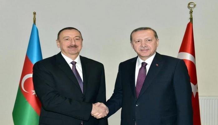Президенты Азербайджана и Турции принимают участие в церемонии открытия НПЗ Star