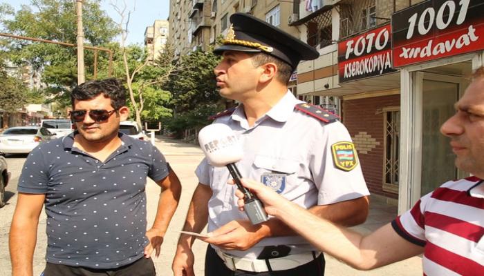В Баку проведен рейд против нарушающих правила водителей