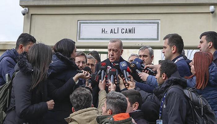 Cumhurbaşkanı Erdoğan: Saat 18.00'de Putin'le görüşeceğim