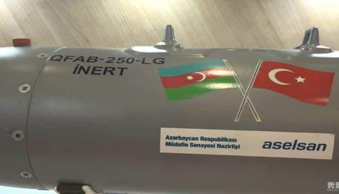 Azərbaycan istehsalı olan aviasiya bombasının əsas göstəriciləri açıqlanıb