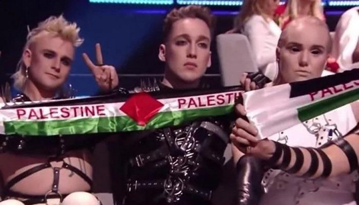 Исландию могут наказать за палестинские флаги на Евровидении