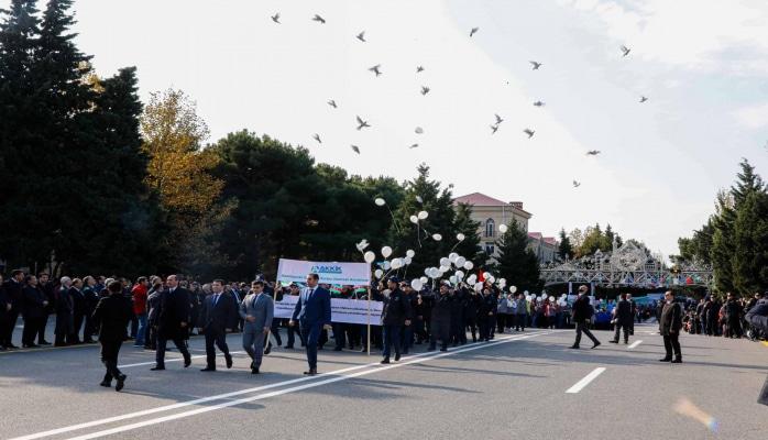 """""""Azərsun Holdinq"""" Sumqayıt şəhərinin 70 illiyində iştirak edib"""