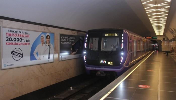 Bakı metrosunda iş saatı uzadıldı -  RƏSMİ