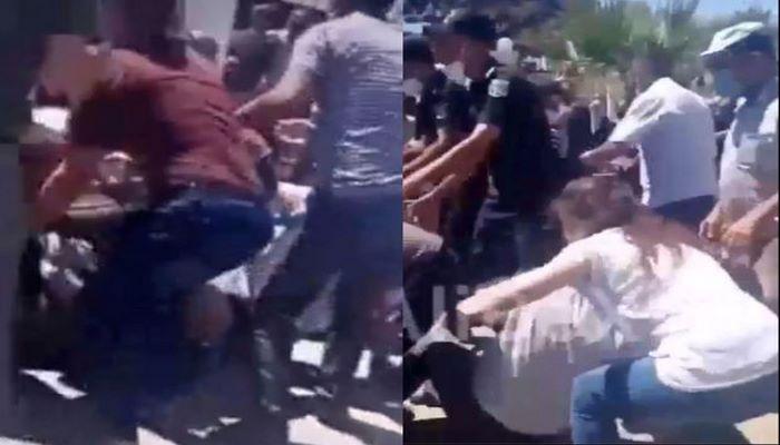 Bakıda qurban payı üstündə qarşıdurma: Bir neçə nəfər ayaq altında qaldı