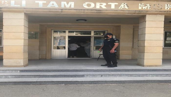 Бакинская полиция о соцбезопасности на выпускных экзаменах
