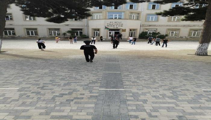 Бакинская полиция об организации выпускных экзаменов