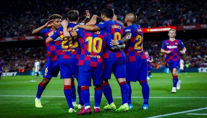 «Барселона» оказалась сильнее «Эспаньола» в каталонском дерби