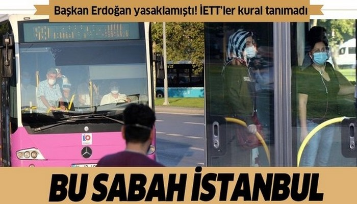 Başkan Erdoğan yasaklandığını duyurmuştu! Yine aynı manzara...