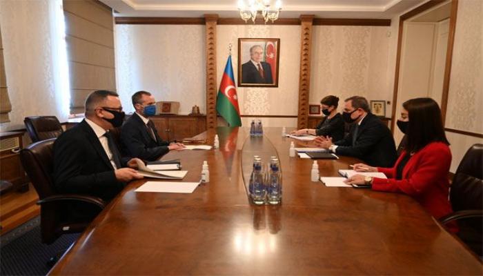 Глава МИД Азербайджана встретился с послом Польши