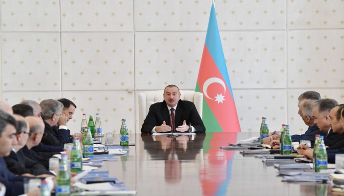 Президент Ильхам Алиев: В результате нашей деятельности были пресечены попытки изменения формата переговоров по разрешению нагорно-карабахского конфликта