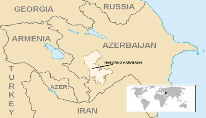 BRITANİYA Coğrafi məlumat kitabı - Qarabağ Azərbaycanın tarixi ərazisidir