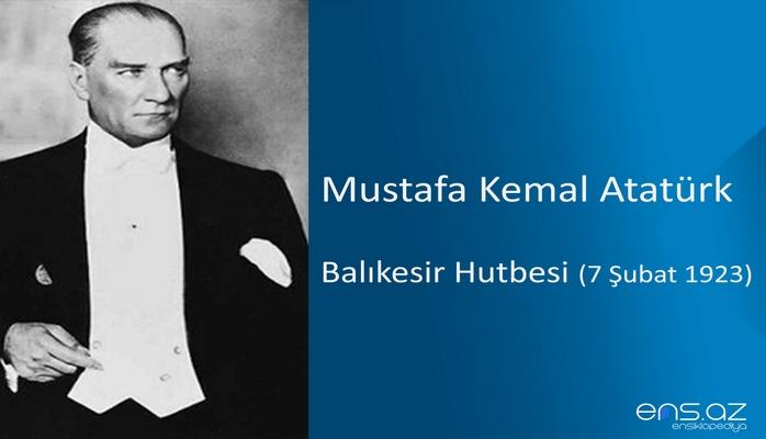 Mustafa Kemal Atatürk - Atatürk'ün İnebolu Nutku (27 Ağustos 1925)