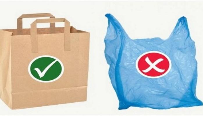 В Брюсселе запретили пластиковые пакеты