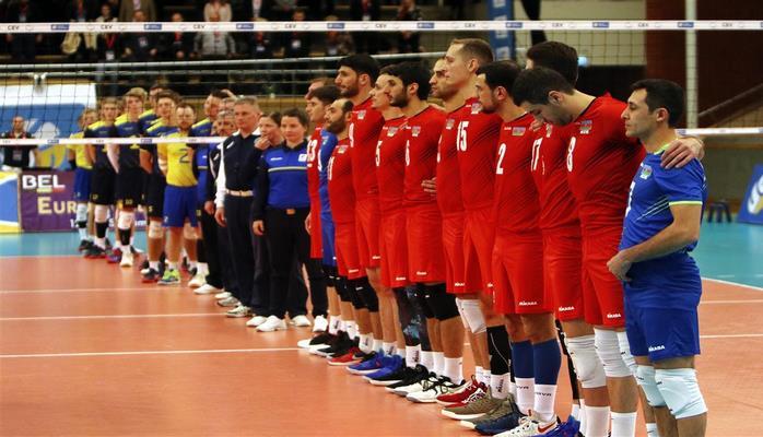 Мужская сборная Азербайджана по волейболу не попала на Чемпионат Европы