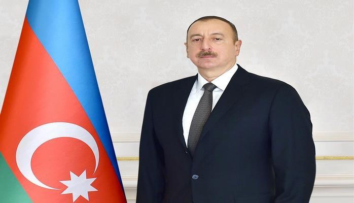 Prezident İlham Əliyev və birinci xanım Mehriban Əliyeva Şəkidə Bayraq Muzeyinin açılışında iştirak ediblər