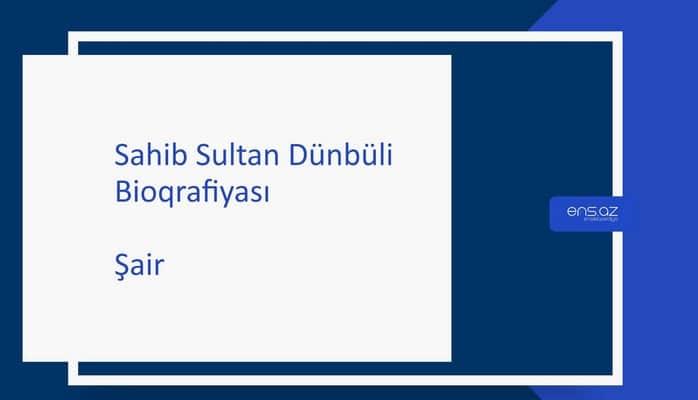 Sahib Sultan Dünbüli