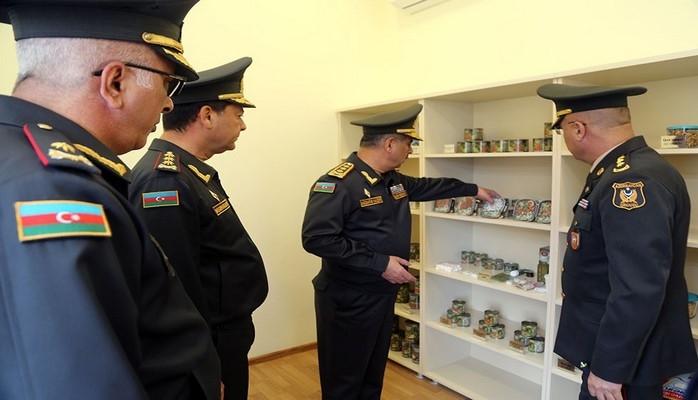 Закир Гасанов принял участие в открытии Центральной военной ветеринарной лаборатории